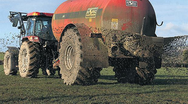 Rigid slurry rules to pile further pressure on farmers