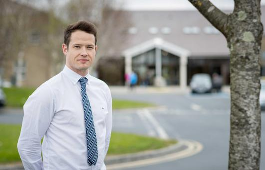 Trauma and orthopaedic surgeon Dr Matthew Lee has carried out extensive research on farm accident and fatality data. Photo: Dylan Vaughan