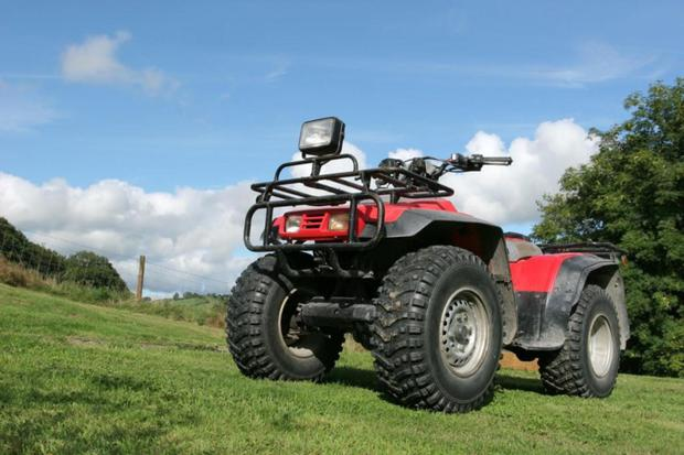 It is estimated that there are now around 10,000 ATVs in use on our farms