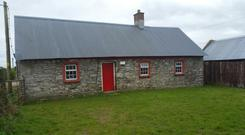 The cottage on 23ac is located close to Tynagh in south-east Galway
