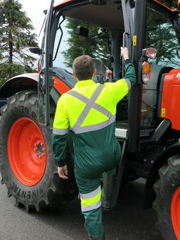 Heavy machinery and tractors are the most common source of fatal farm injuries in Ireland.