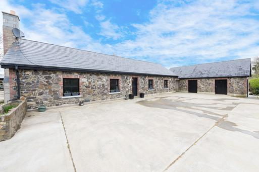 The renovated and extended property is located on 62ac in Rathmaiden, Co Meath