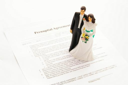 The general advice is that you should enter the pre-nuptial agreement well in advance before the wedding