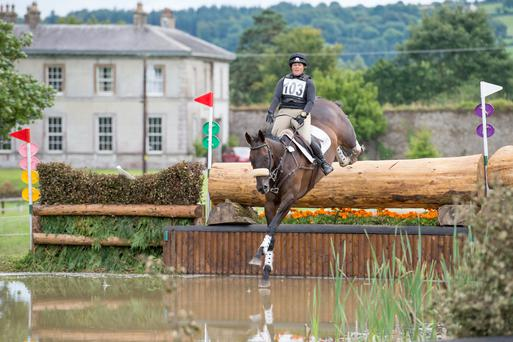 Clare Lambert is hoping for a solid three-star debut on Whitmore Way at the Tattersalls Horse Trials