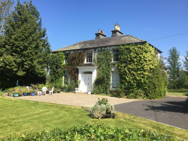 The residence and farm is located close to Portarlington and will be auctioned in lots early next month