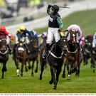 Altior winning at Cheltenham 2016
