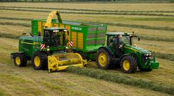 Modern harvesters can do close to €20,000 worth of work in a day