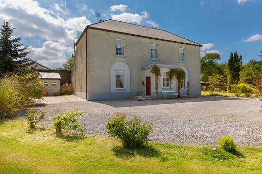The Old Rectory is located at Coolbanagher, near Emo, Co Laois