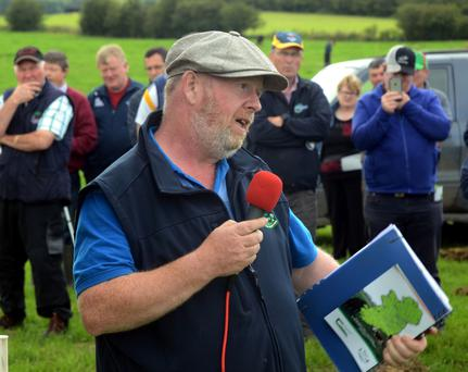 Christy outlines the challenges and benefits of the system. Photo: Gerard O'Loughlin