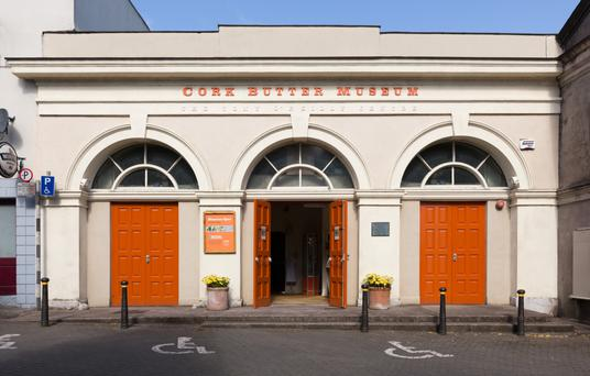 Cork Butter Museum is located in the Shandon district close to the former Cork Butter Exchange which prospered in the 1700s and 1800s. Photo: Roland Paschhoff