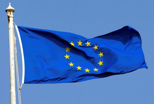 Some 77pc of us have a positive image of the EU. Stock picture