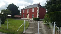 The farmhouse and 88ac is located near Shanahoe, Co Laois and is guided at €1.04