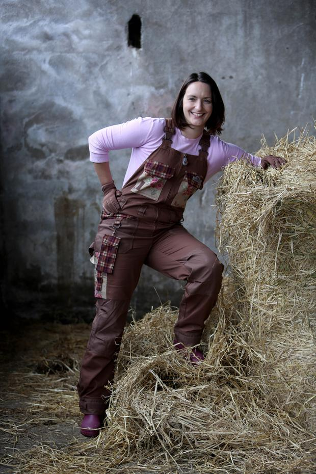 Grace Roche modelling some of her new range at Abbey, Co Galway. Photograph: Hany Marzouk