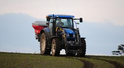 It says that thousands of farms are failing to comply with the Nitrates Directive, which limits the pollution impact on surface and ground water.