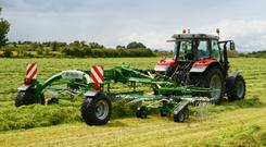 McHale is adding to its growing grass portfolio with a new rake line