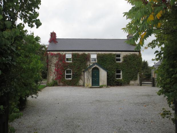The fully renovated traditional farmhouse