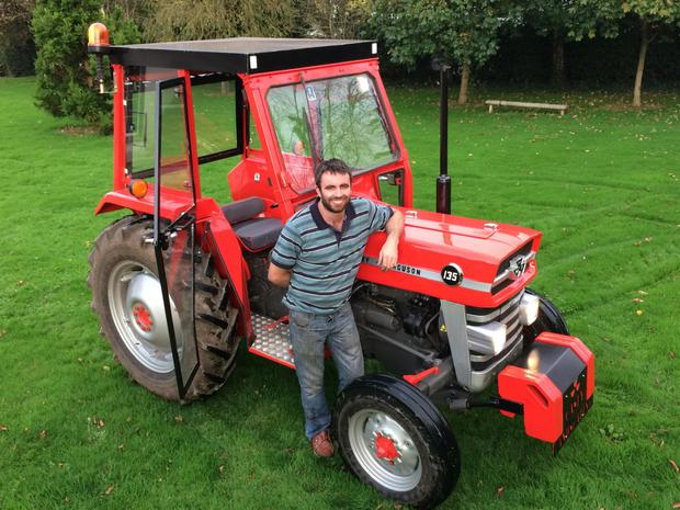 1973 Massey Ferguson 135 : It was a labour of love waterford man on his stunning