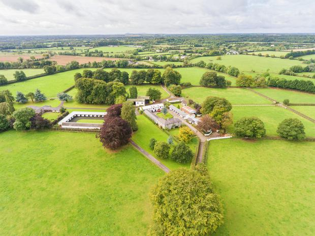 Loughtown Stud on 171 ac near Donadea, Co Wicklow sold for in excess of €3m
