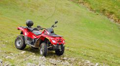 There are around 10,000 ATVs in use on Irish farms