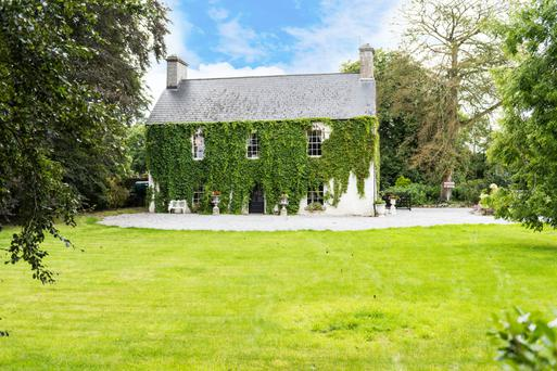 Mullenkiegh House dates back to the 1600s and was later 'Georgianised'