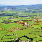 The holding located near Dromahane and the land is guided at €10,000/ac