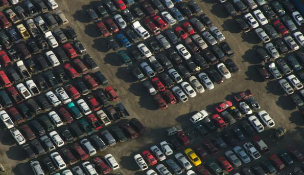 Rows of old cars are sitting unused in yards around the country.