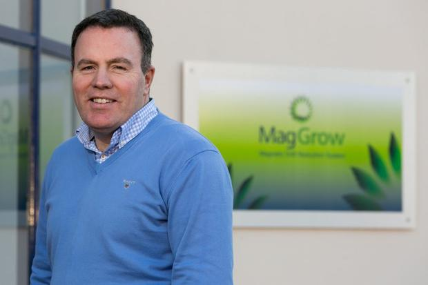 MagGrow CEO Gary Wickham who is particpating in the 2007 Pearse Lyons accelerator