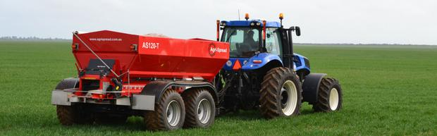 Going from strength to strength: AS120-T Agri-Spread spreader