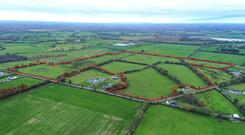 This 46ac parcel of land near Raharney, Co Westmeath is guided at €7,000/ac