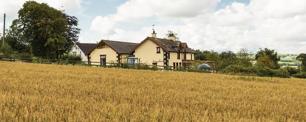 The farmhouse extends to 2,400sqft
