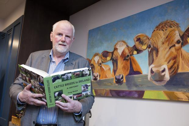 Greg Walsh at the launch of his book. Photo: Arthur Carron