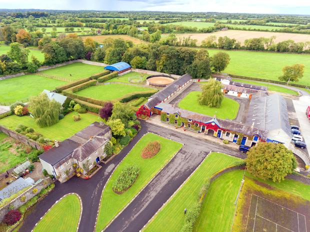 The biggest sale of the year was the €8.15m paid for Ballymacoll Stud on 300 acres in Dunboyne, Co Meath