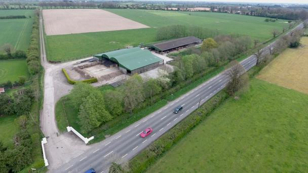 A 157ac farm at Berrilstown near Navan sold for €2.4m, or €15,300/ac