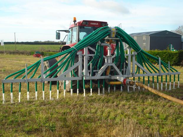 An umbilical system offers benefits when soil trafficability is poor.