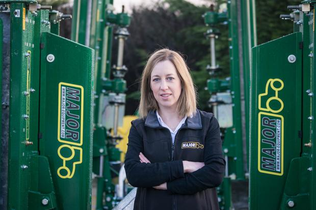 Eibhlin Murphy, Marketing Manager, Major Equipment Ireland Limited