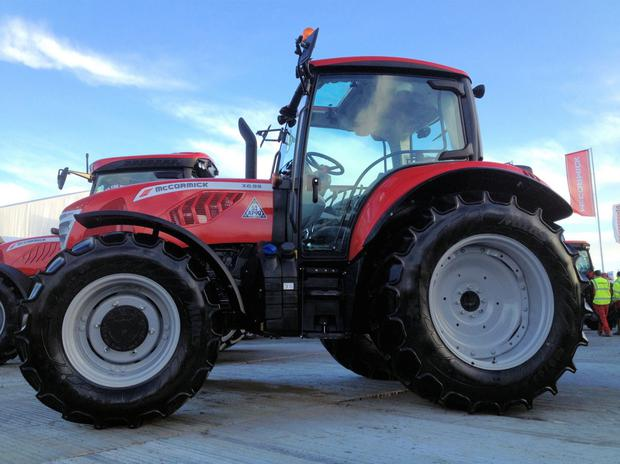 The new 126hp McCormick x6.55 is available in Ireland from this spring
