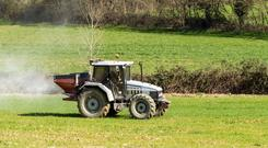 Soils can soak fast at this time of year