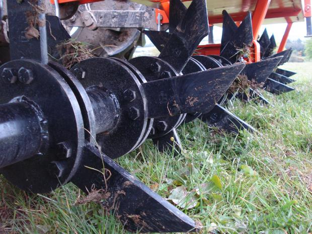 Aerators are available from around €2,500 and target compaction issues close to the surface.