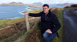 IFA Kerry chairman Pat O'Driscoll on Valentia Island. Photo: Don Mac Monagle