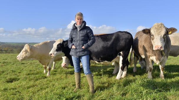 Minette Batters, the new president of the National Farmers' Union has said frictionless trade with the EU is vital (Adam Fradgley/NFU/PA)
