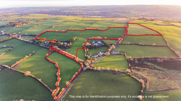 The 42ac farm is located at Carhue near Bandon
