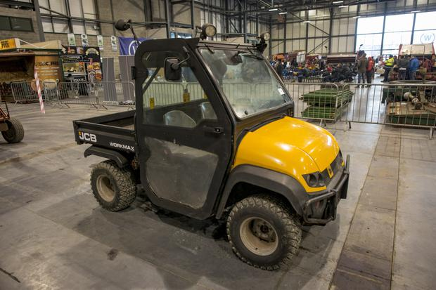 JCB Workmax utility vehicle sold for €3,000