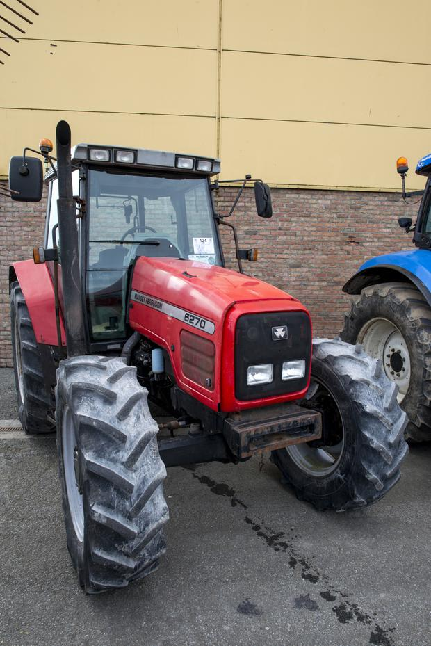 1999 Massey Ferguson 6270 with 6,876 hours on the clock - sold for €9,500
