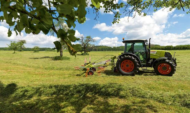 The Claas Liner is ideal for farmers looking to do their own silage raking