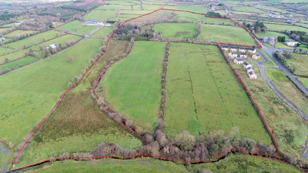 The 52.5ac holding is located near Moyne in north Longford