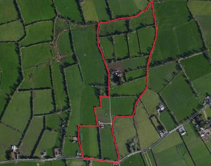 The 46ac farm is located 6.5km from Tipperary town