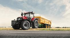 Contractors and large tillage farmers will be interested in Case IH's new entry level Optum 250 tractor.