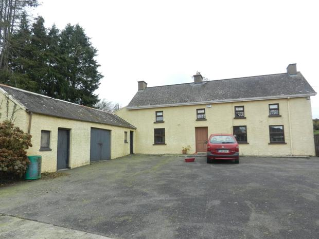 The 70ac farm is for sale with a 250 year old farmhouse and a bungalow built in the 1980s