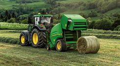 Baling 4x4 bales of silage has a charge of €4.50 per bale plus VAT. Baling and wrapping (including plastic cost) will be charged at €9.50 per bale plus VAT.