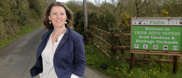 Jennifer McConnell, General Manager of Irish Seed Savers, Scariff, Co.Clare ©Kevin Byrne Photography